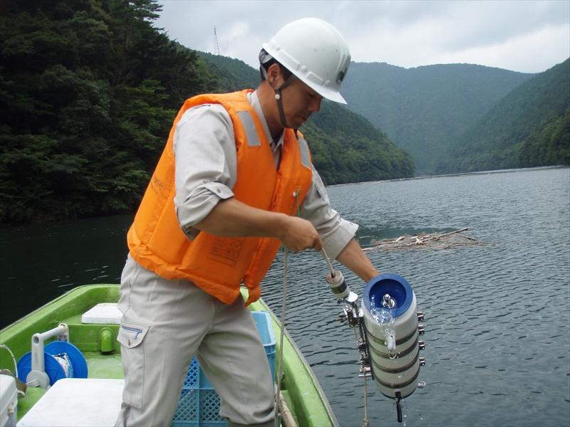 水質・プランクトン調査