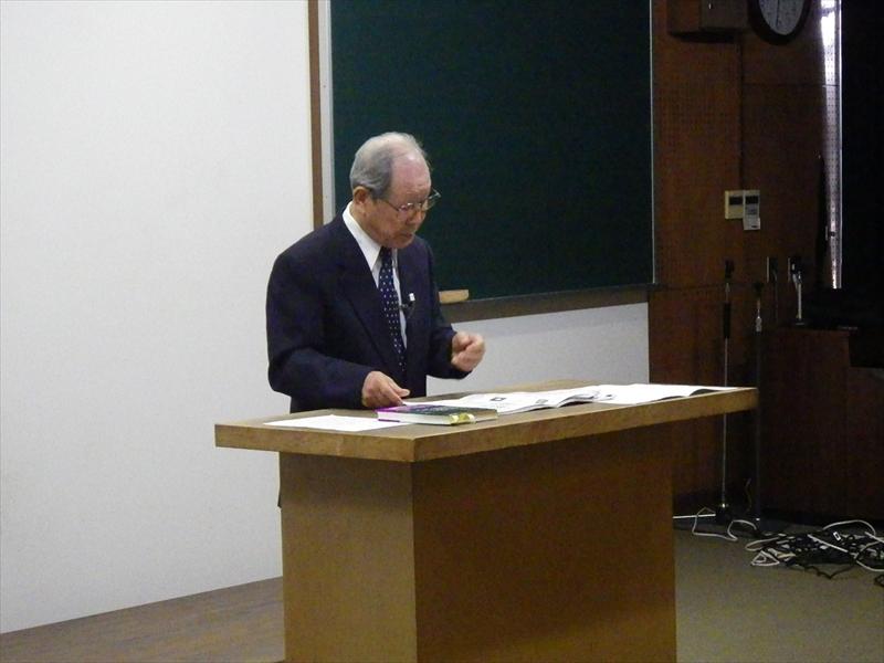 講演会大野先生